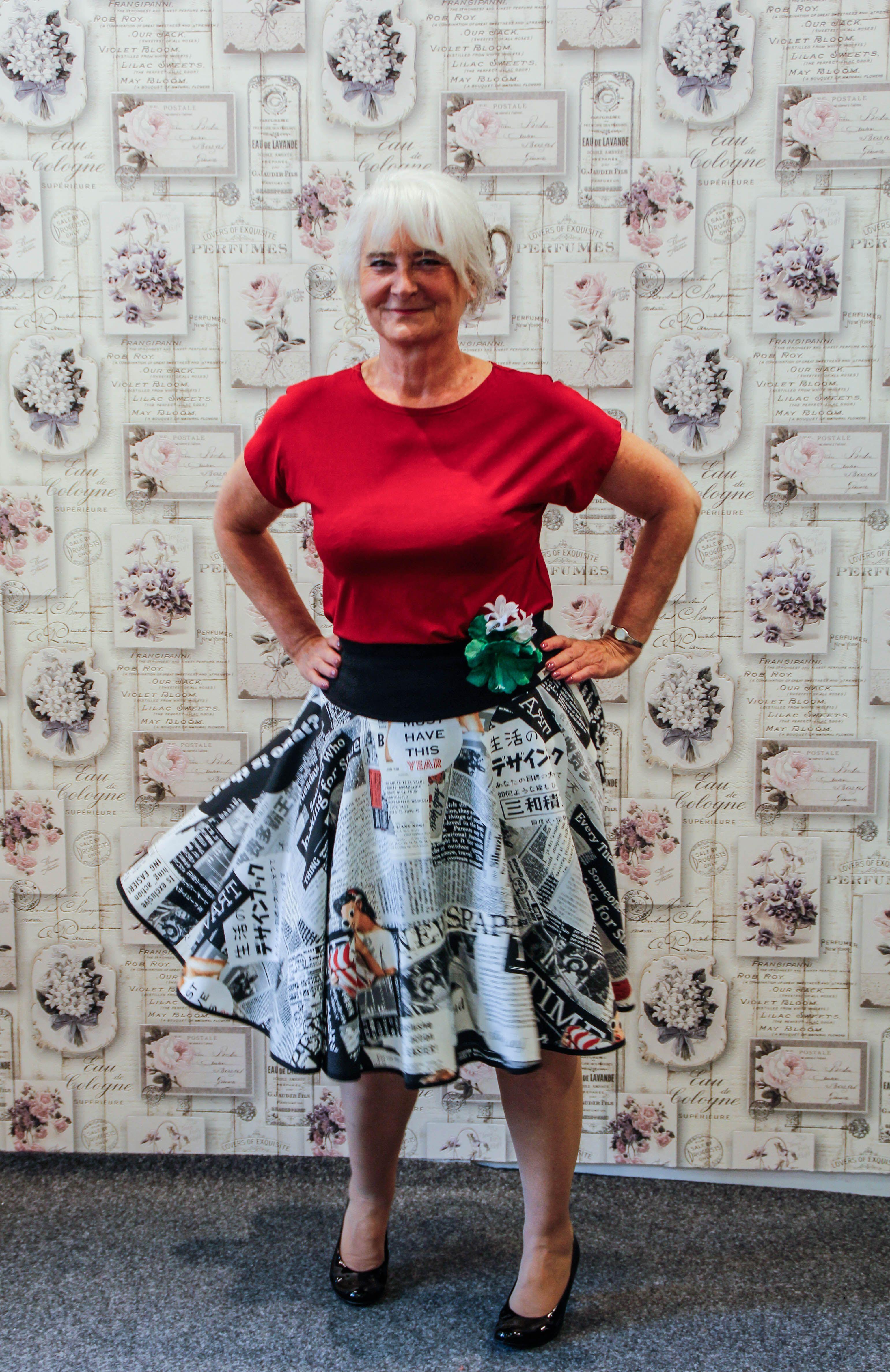 50er Jahre Mode in allen Größen Maßanfertigung Damenmode Modeatelier ...