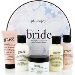The Bride Skin Care Gift Set Findgift Com Bride Skin Bridal Gift Set Skincare Gift Set