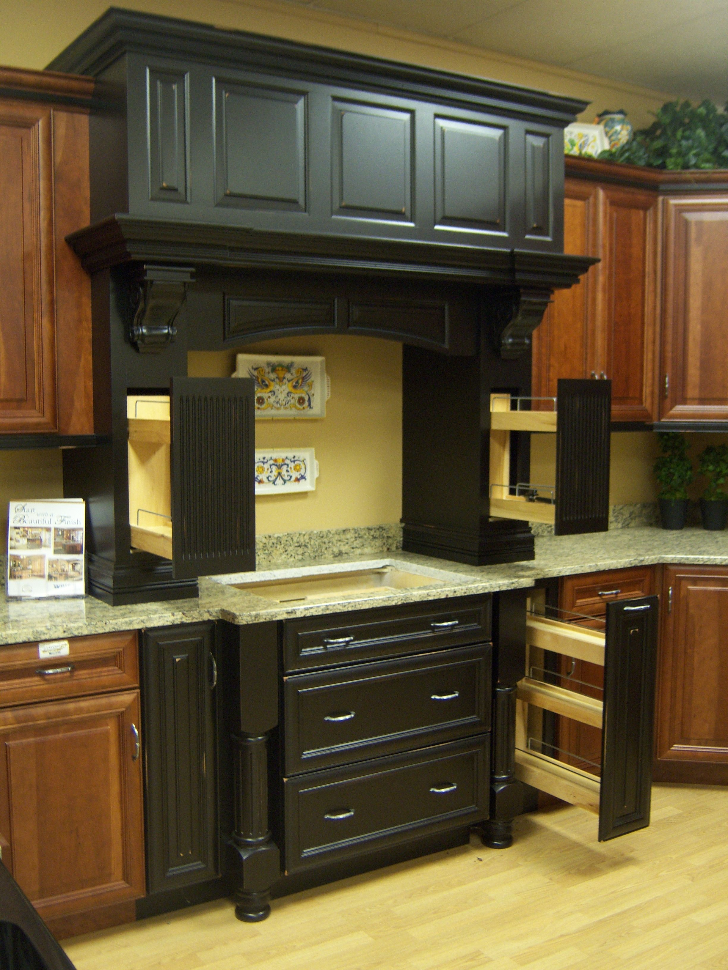 Wellborn Kitchen Cabinets Jars Caruso 39s Cabinet Savannah Cherry Cocoa