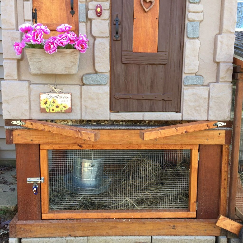 41a9fad5_FrontOpening   Chickens   Play houses, Backyard ...