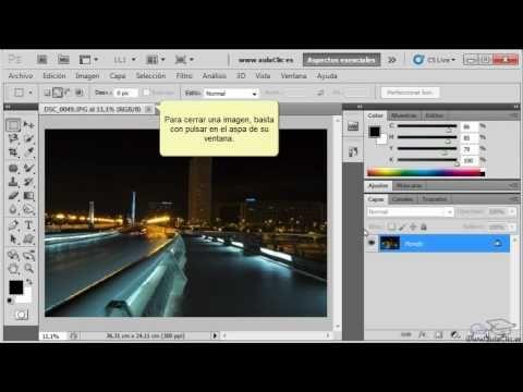 Curso De Photoshop Cs5 1 Manejo Básico De Photoshop Curso De Photoshop Photoshop Fotografias Digitales