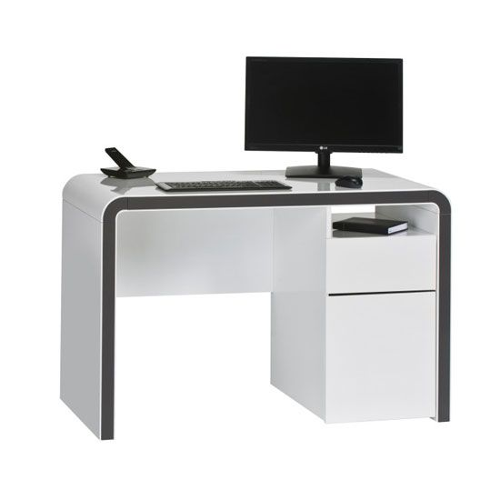 Simple Yet Very Functional And Stylish Computer Table Is Ideal For Your Home Office Http Goo Gl Dqfvgh Furniture Modern Computer Computer Desk Desk Home