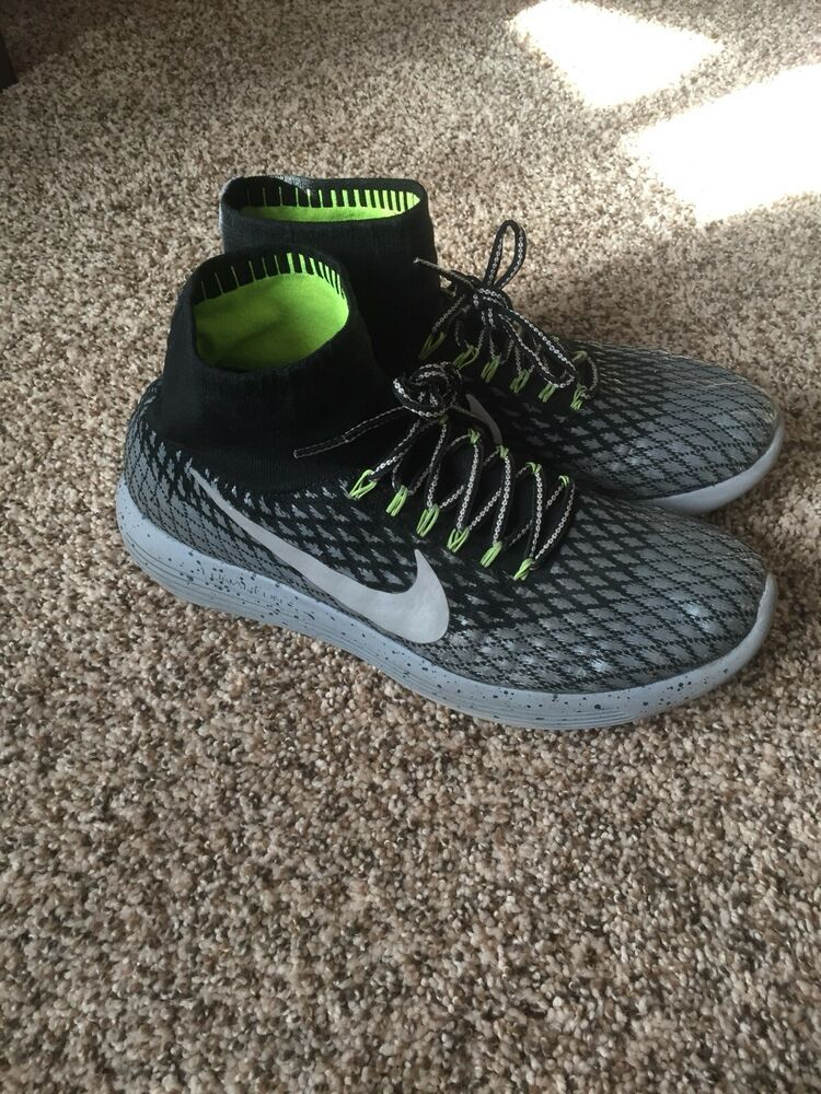 6760703aa1a7a Men s Nike Lunarepic Flyknit Shield Running Shoe Size 12 849664-001 ...