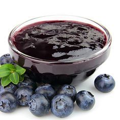 Blueberry freezer jam. Yummy and easy! I love blueberries!