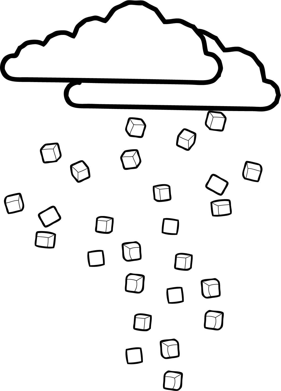 Cool Cloudsice Coloring Page