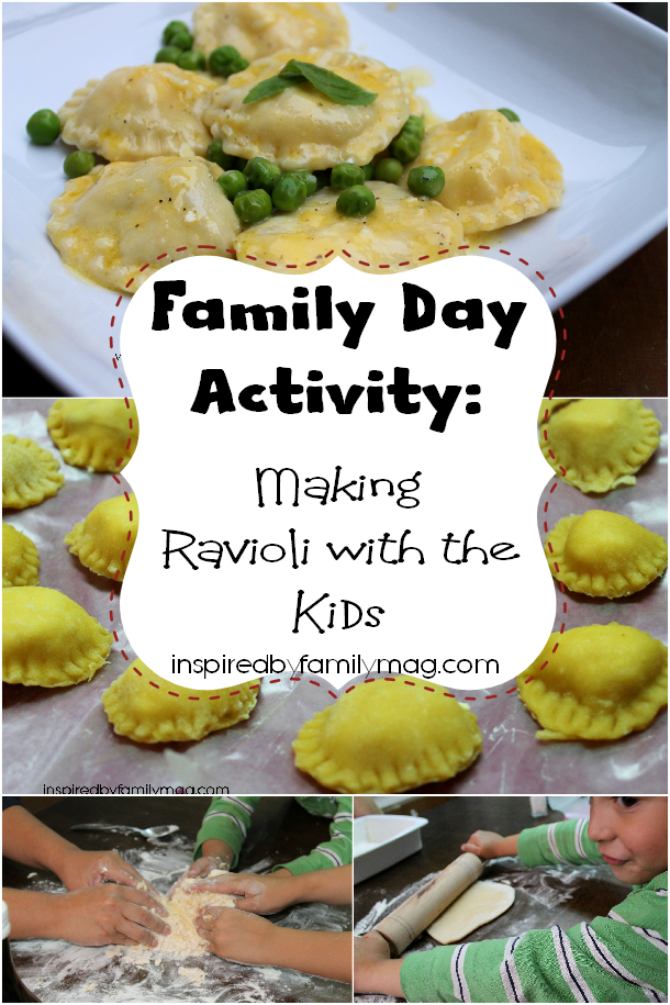 Family day activity making ravioli with kids recetas for Ideas para almuerzos caseros