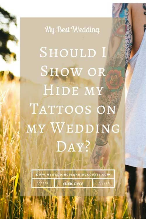 A wedding question that comes up a lot is whether you should show or hide your tattoo. There are plenty of brides on both sides of this argument. This blog will discuss brides who do not want to show their tattoos. This always comes down to type of wedding and personal preference. If you're roman ...