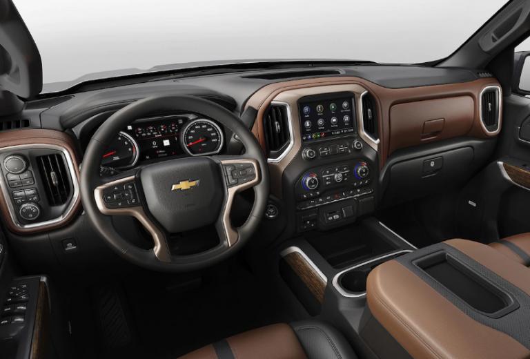 2020 Chevrolet Silverado Interior Gmc 2500 Chevrolet Silverado Gmc