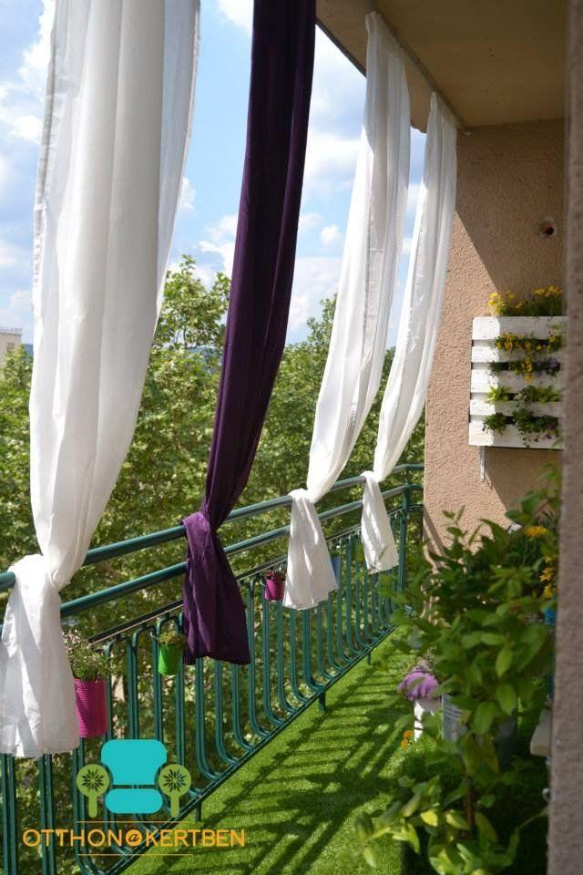 legyen olyan az erk lyed mint haj s andr s balkon vorhang pinterest balkon balkon ideen. Black Bedroom Furniture Sets. Home Design Ideas