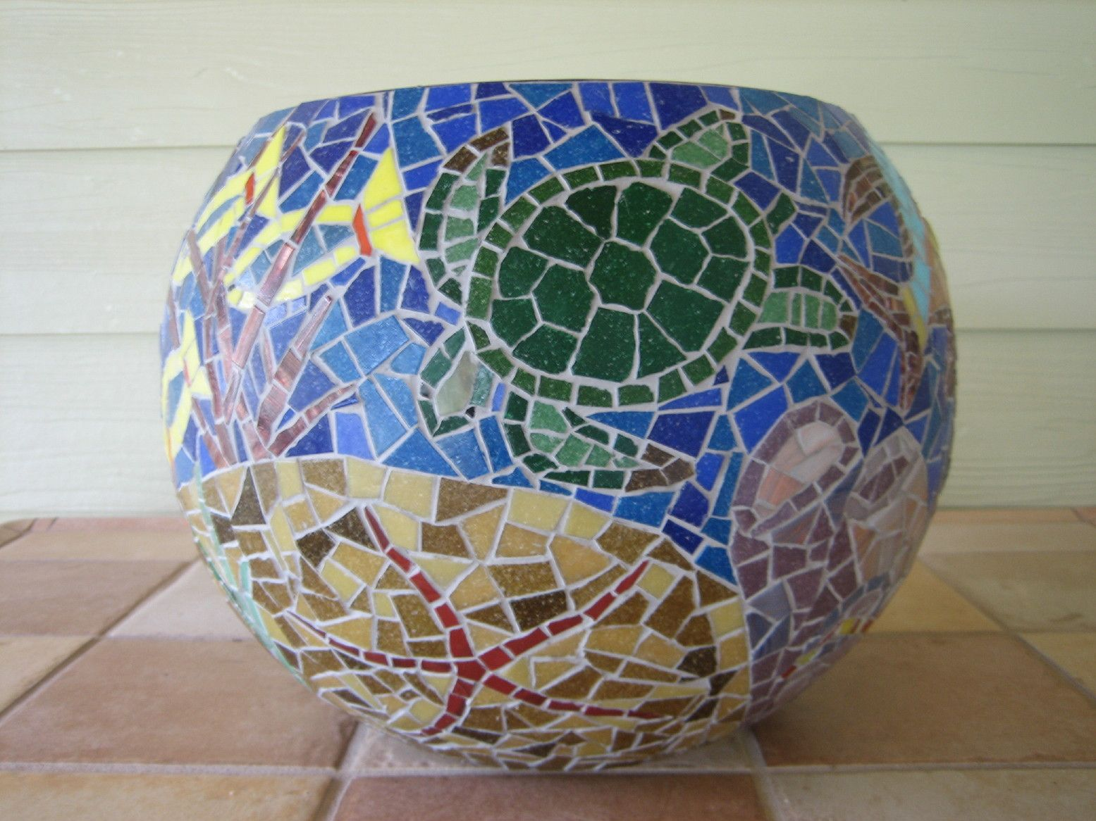 mosaics fish - Google Search