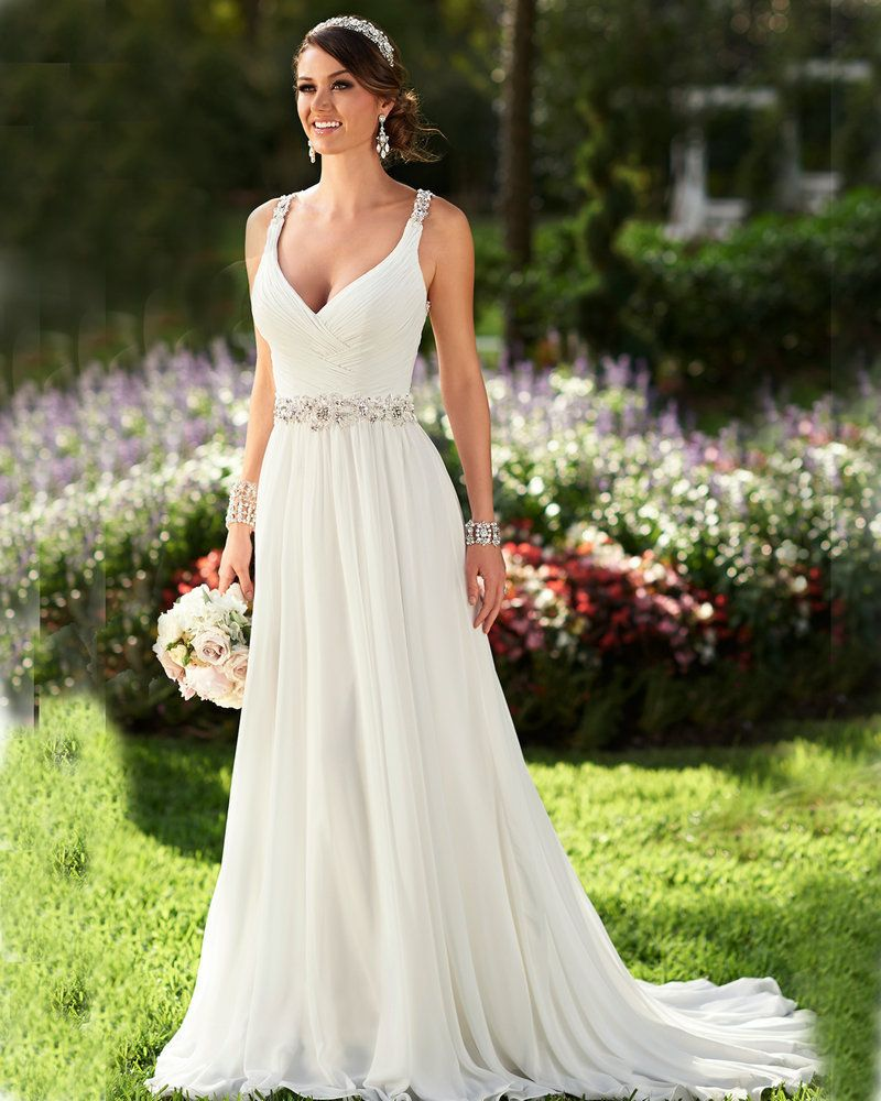 10 Best images about Summer Wedding Dress on Pinterest - Romantic ...