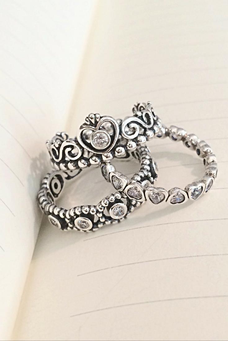 Size and 2 size 9 Princess splendor and glory. PANDORA Jewelry More than -  DiMagio