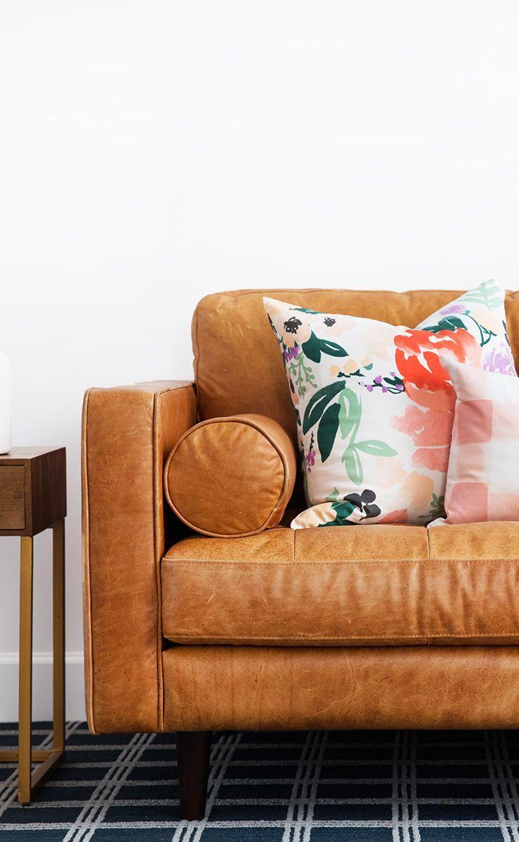 Sven Charme Tan Sofa Article Home Sweet Home