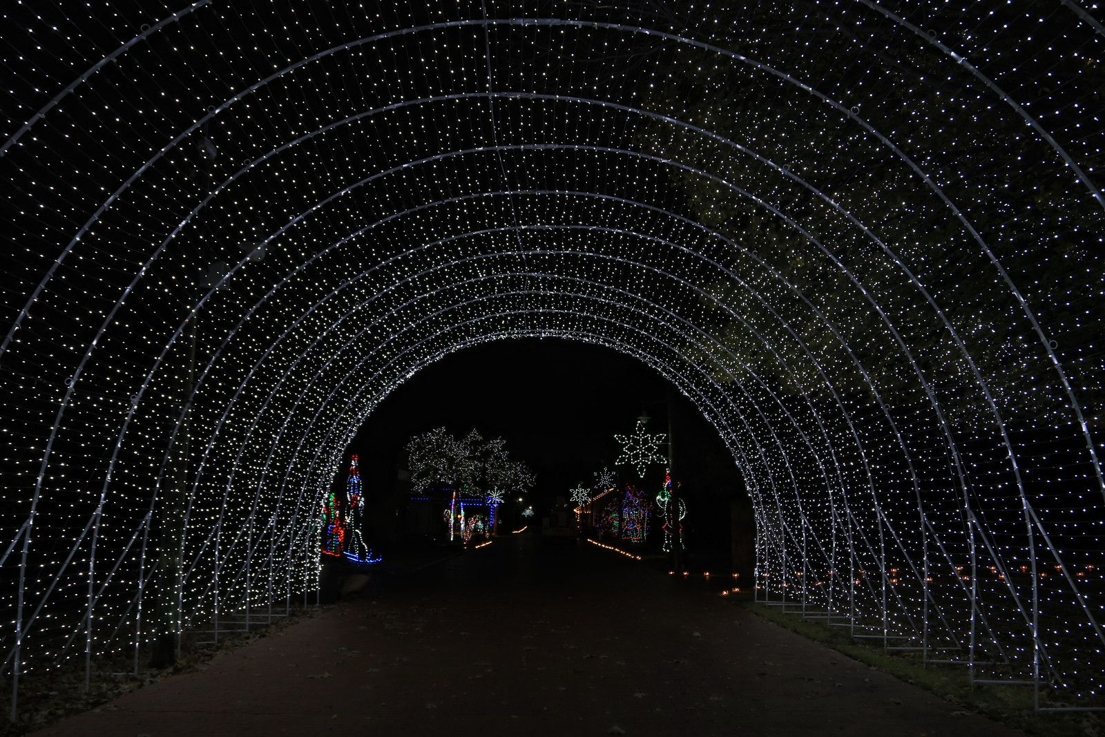 Farmers Branch Christmas Tour of Lights Drive through