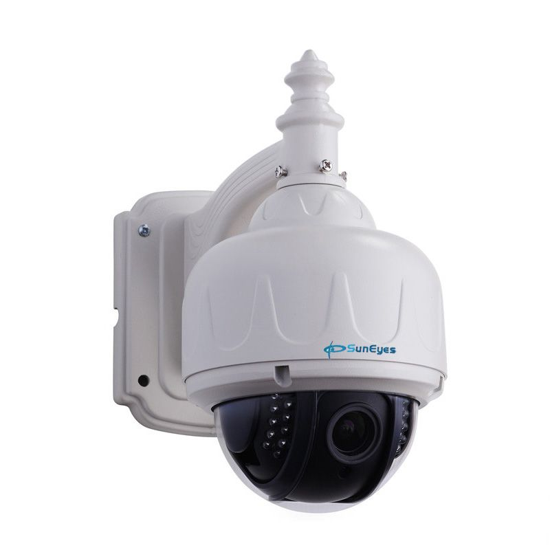 SunEyes SP-V706W Wireless PTZ Dome IP Camera Outdoor 960P/1080P HD