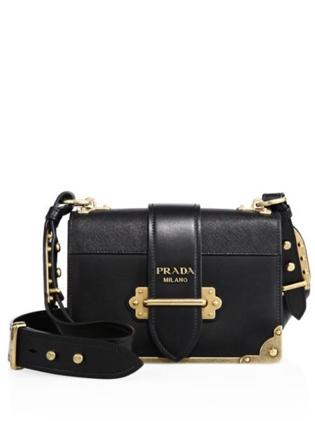 ed922622e2912b Prada - Cahier Notebook Leather Shoulder Bag | Prada | Prada cahier ...