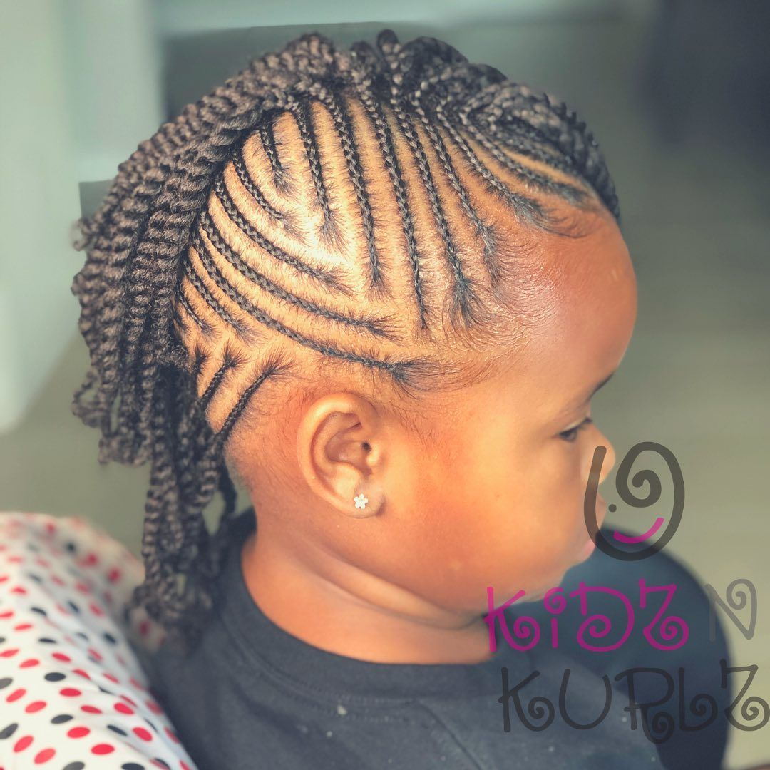 Image May Contain One Or More People And Closeup Coiffures Pour Enfant Coiffure Mariage Enfant Cheveux Naturels