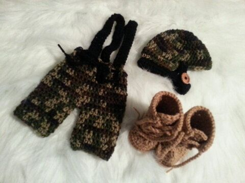 Hey, I found this really awesome Etsy listing at https://www.etsy.com/listing/197971017/photo-prop-complete-newborn-army-3-piece