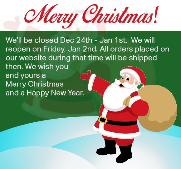 merry christmas email banner