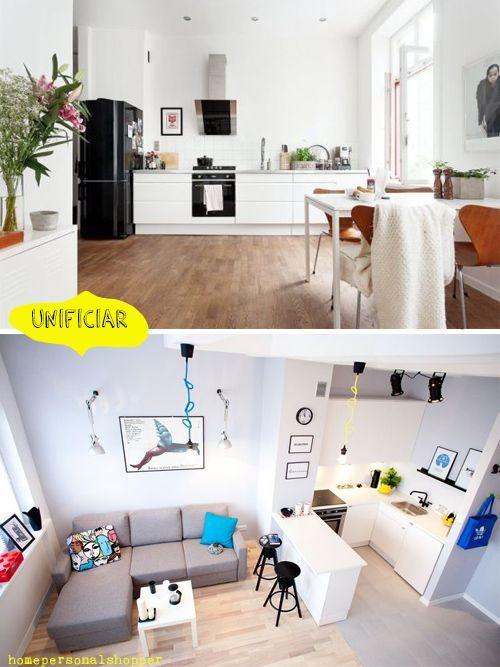 5 trucos para decorar espacios pequeños woe Pinterest Espacios - decoracion de espacios pequeos