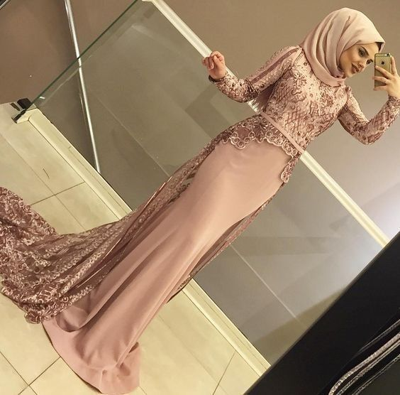 Photo of 2019 hijab evening dress models and prices – charming women