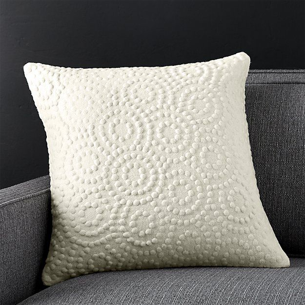 Takato 40 Pillow With DownAlternative Insert Pillows Crates And Unique Crate And Barrel Decorative Pillows
