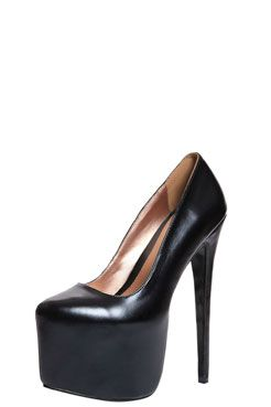 92333e5f13e Give yourself a lift with these extreme high heels.