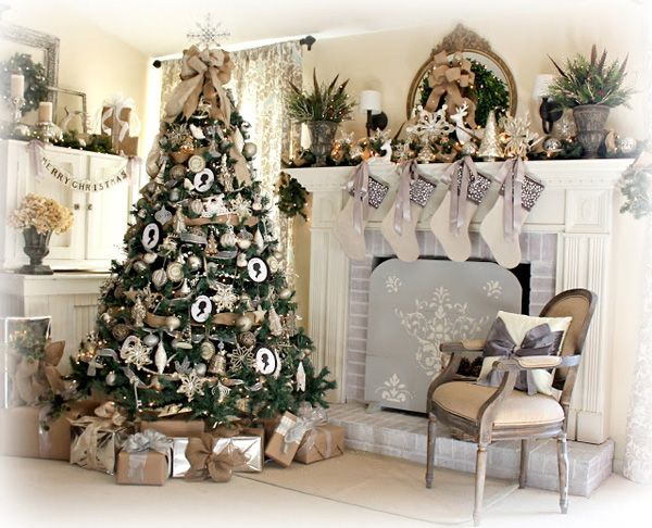 have a white and gold filled christmas with this classy christmas decor fill your house with white and gold ornaments from your christmas tree balls to the