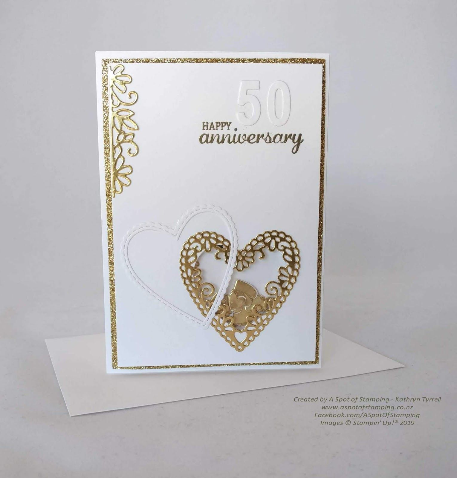 Image Result For Meant To Be Cards Stampin Up Wedding Anniversary Cards Golden Wedding Anniversary Anniversary Cards