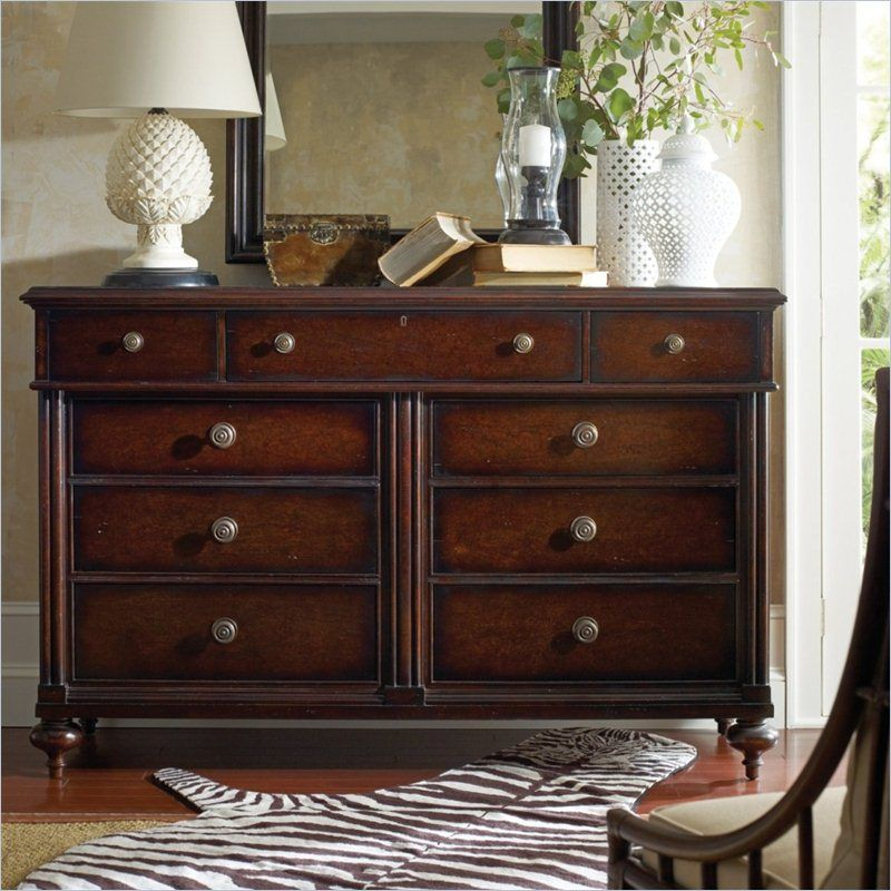 British Colonial - Drawer Chest in Caribe - 020-63-13 - Stanley ...
