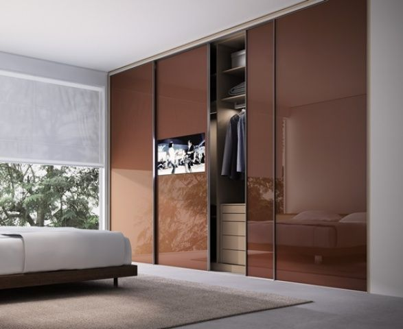 TVs embutidas em vidros, espelhos e portas TVs e Pesquisa