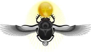 Resultado de imagen para escarabajo egipcio