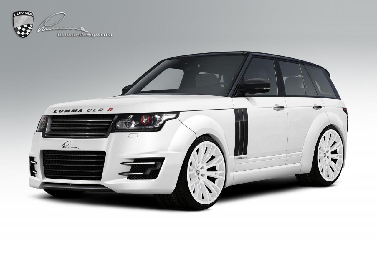 Тюнинг: 2013 Range Rover от Lumma Design