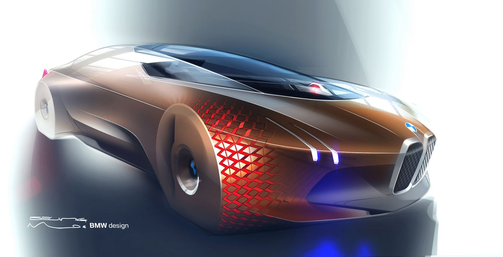 Bmw Vision Next 100 Revealed To Preview Future Technologies 108 Pics Video Carscoops Bmw Next 100 Bmw Design Concept Cars