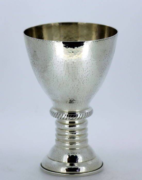 7e7f0b79f0a Currently at the  Catawiki auctions  Solid Sterling Silver Greek Goblet