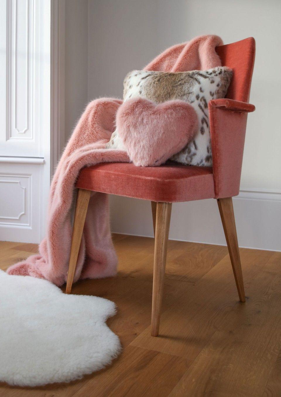 Faux fur cushion lynx cushions faux fur decor