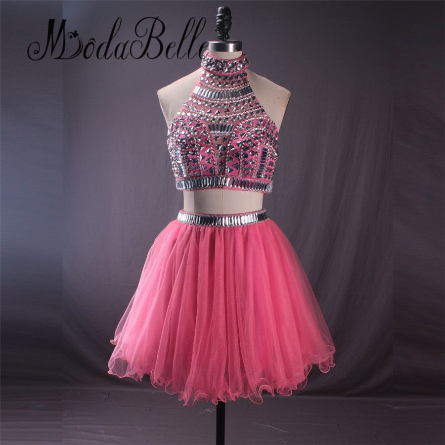 Click to buy ucuc modabelle watermelon sequined beading ruffles
