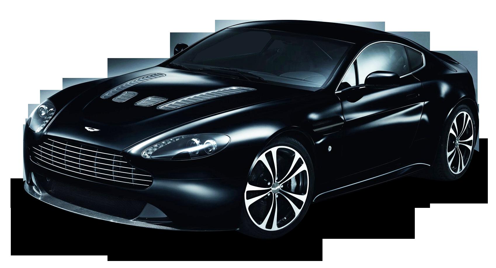 Aston Martin Carbon Black Car