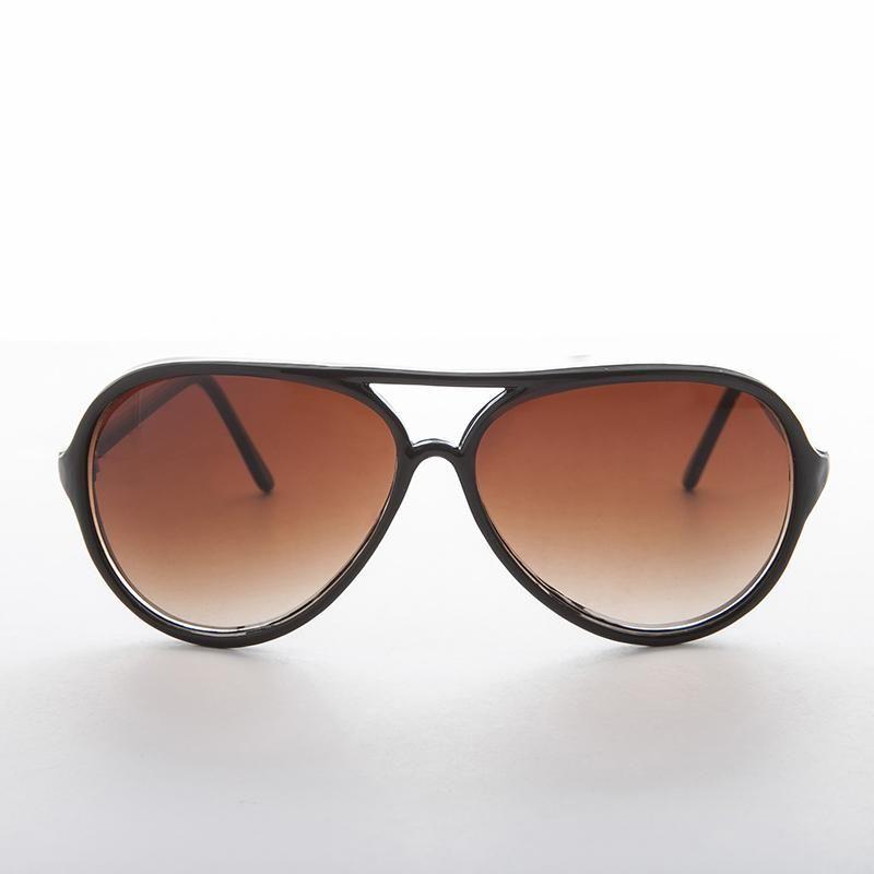 4df5a92c9 Classic Aviator Vintage Sunglasses Teardrop Gradient Lens - Stuntman ...