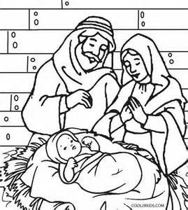 Precious Moments Nativity Scene Coloring Pages Christmas