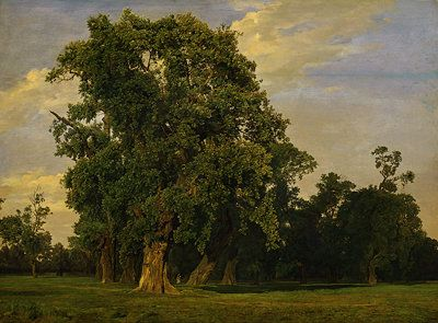 Ferdinand Georg Waldmüller landscapes | Ferdinand Georg Waldmüller, Large Landscape in the Prater, 1849 ...