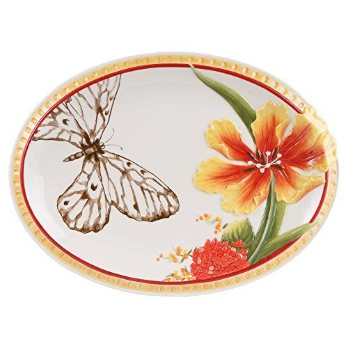Get the Fitz and Floyd Flower Market 14 in. Oval Platter at charingskitchen.com