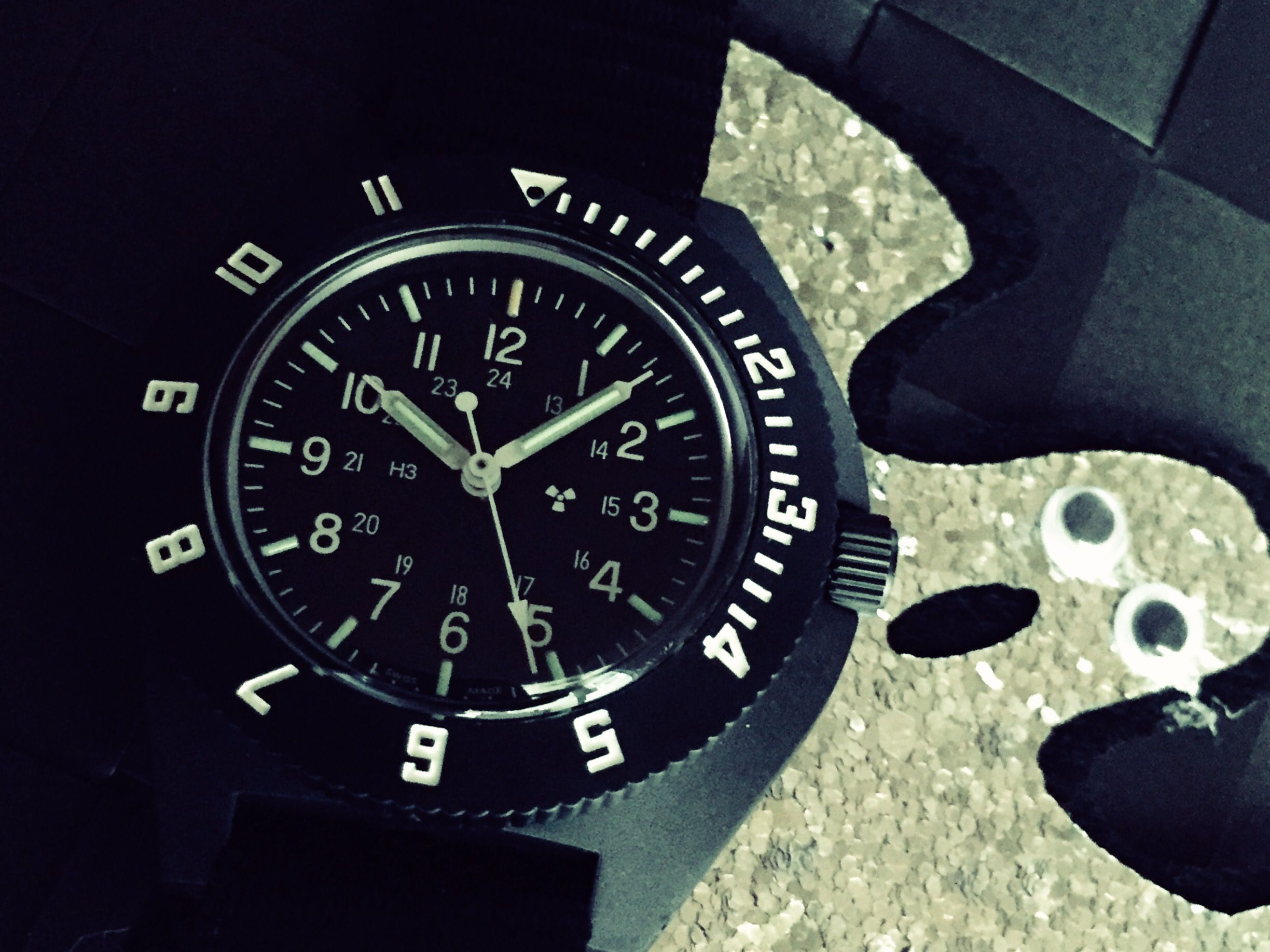 luminous tool worlds apart watches seiko landmaster kinetic damasko
