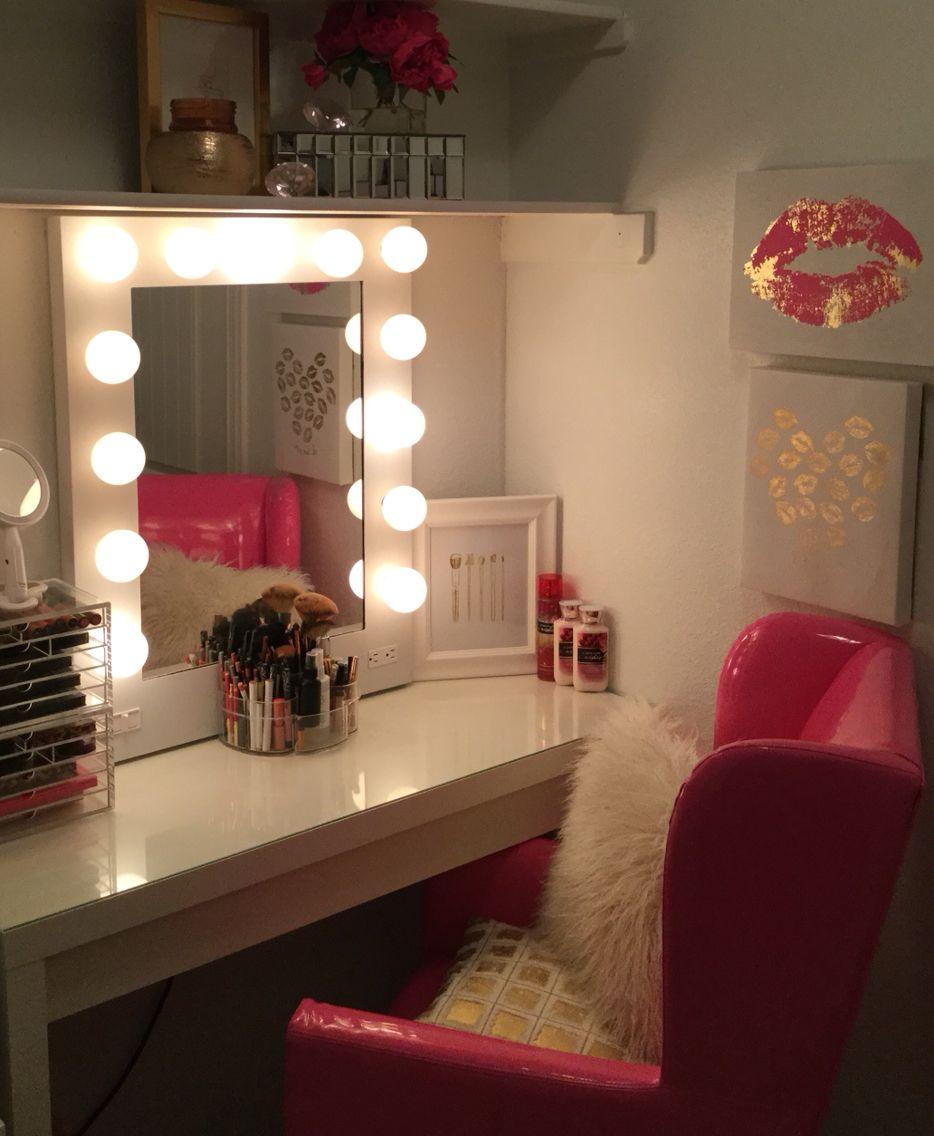 My Makeup Vanity Area