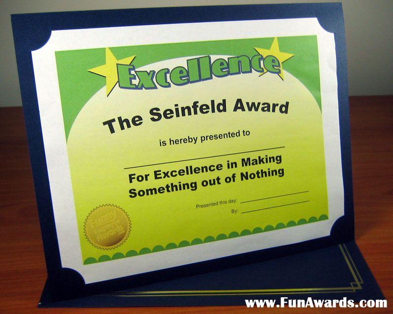 Funny Employee Awards Google Search AWArds Emplo