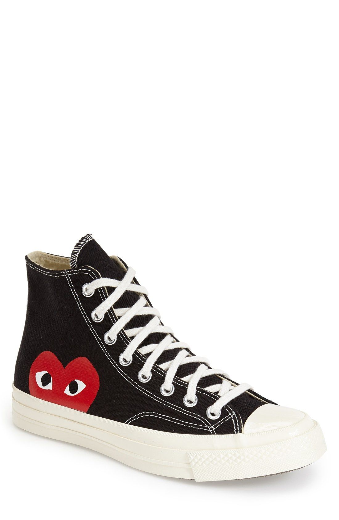 7bbe050108b8 Comme des Garçons x Converse Chuck Taylor®  PLAY - Hidden Heart  High Top  Sneaker (Men)
