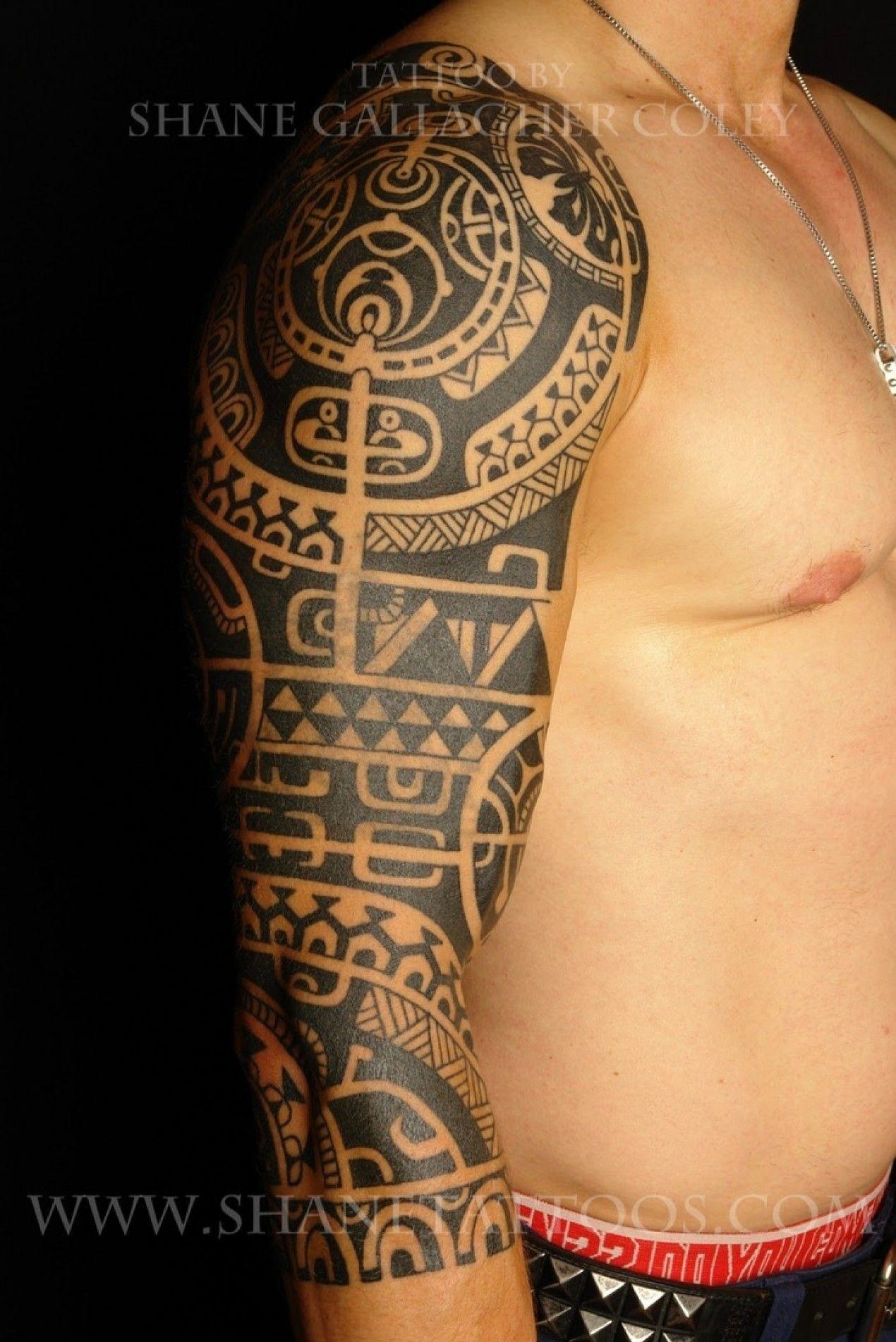 Tatouage Maori Bras Entier Tatouage Tribal Tattoo Tattoos