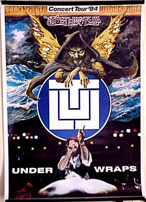 Jethro Tull Under Wraps Tour Poster Germany 1984