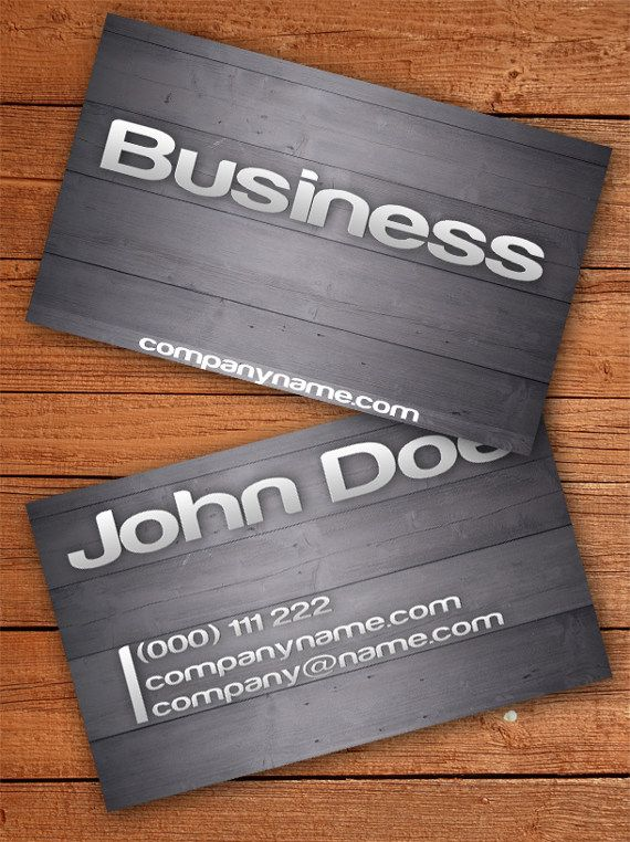 Wooden Business Card 15 Two Sided Business Card Templates Printing Business Cards Wooden Business Card Custom Business Cards