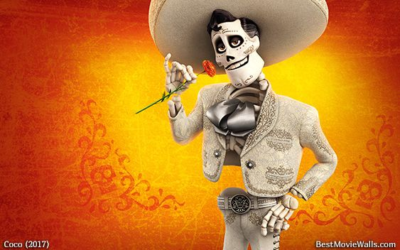Ernesto The Mariachi From Pixars Coco In This Bright Colourful Wallpaper Hd